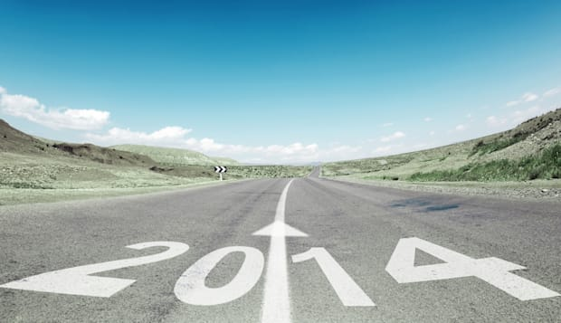 road to new year 2014