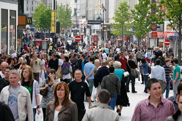 High street sales fall after washout August
