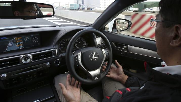Japan Toyota Self Driving Cars