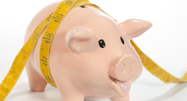 Piggy Bank with Squeezed Savings