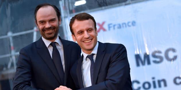 Emmanuel Macron a choisi Saint-Nazaire pour son premier déplacement en France et ce n'est pas un