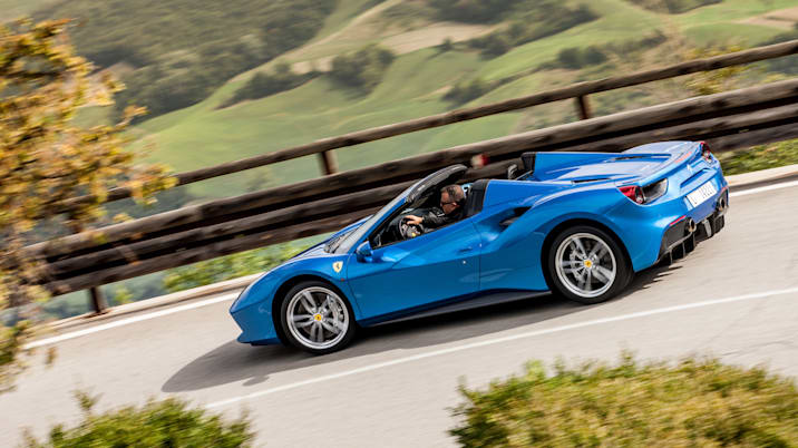 2018 ferrari 488 spider for sale.  2018 the 488 spider packs a midmounted 39liter twinturbocharged v8 making  661 horsepower and 561 lbft of torque itu0027s not quite the screamer past ferrari  intended 2018 ferrari spider for sale