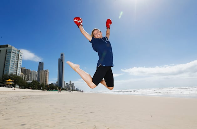 Boxer Skye Nicholson is excited about the 2018 Commonwealth Games, and so are we, mostly. We're just...
