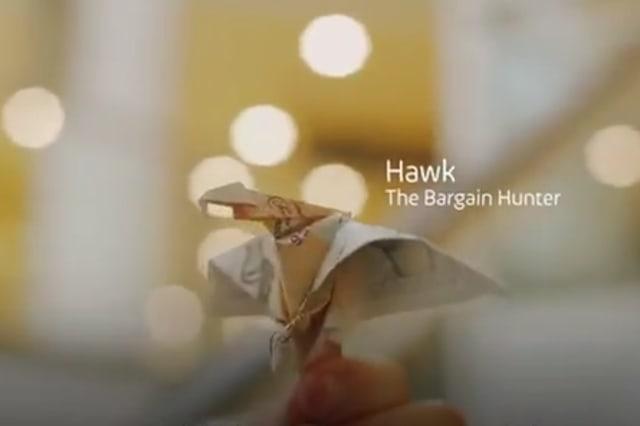 Cash birds hidden in shopping cenres