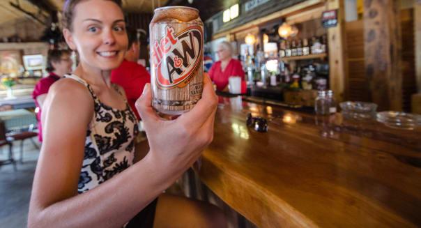 A&W Root Beer - Atlantic City, Wyoming