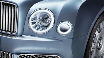 2017 Bentley Mulsanne headlights