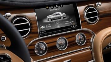 2017 Bentley Mulsanne infotainment