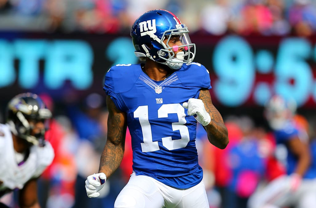 NFL: OCT 16 Ravens at Giants
