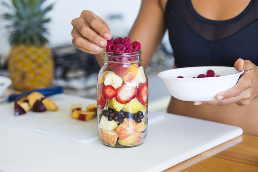 Clean eating or not, the more colour the