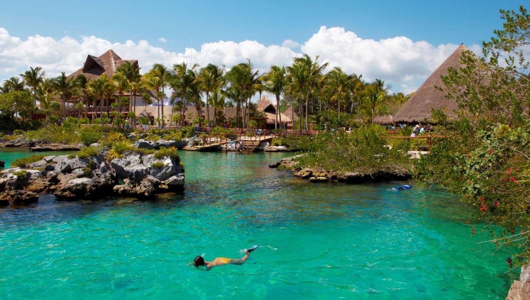 America. Mexico. Quintana Roo state. Xel-Ha
