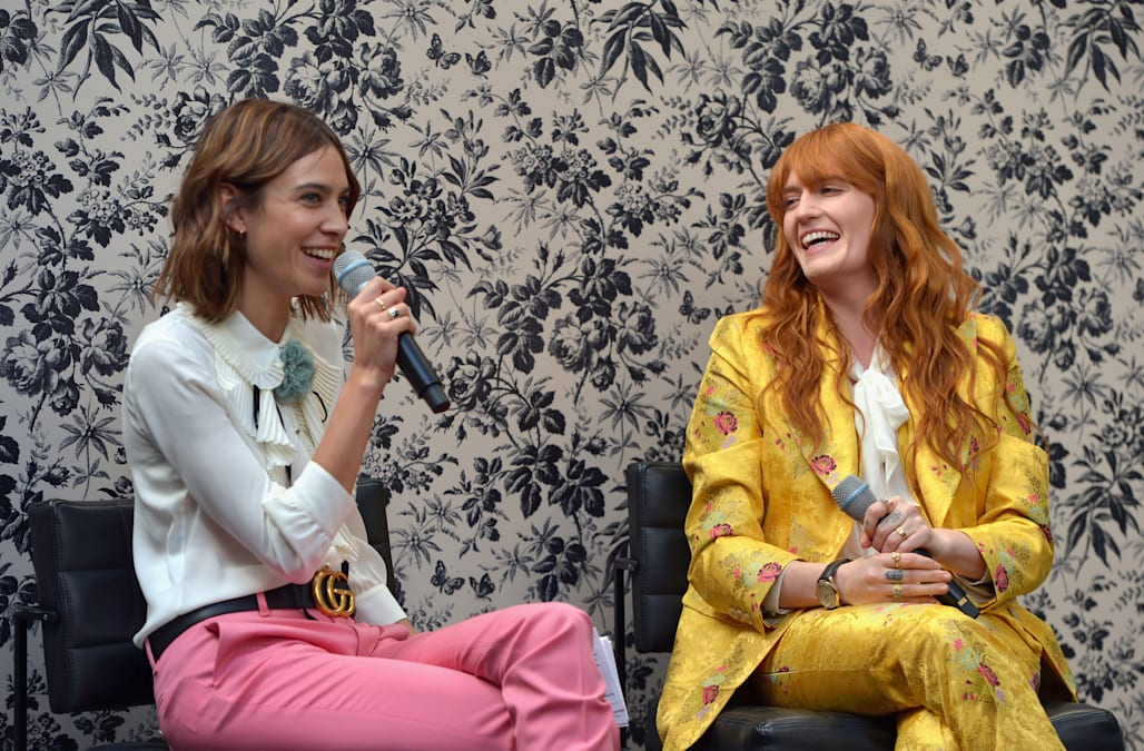 Gucci Timepieces And Jewelry Announces Florence Welch As 2016 Brand Ambassador