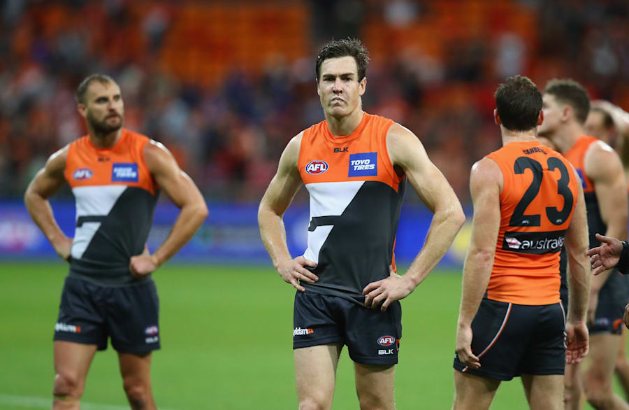 After starring against the Swans two weeks ago, this was not Jeremy Cameron's best