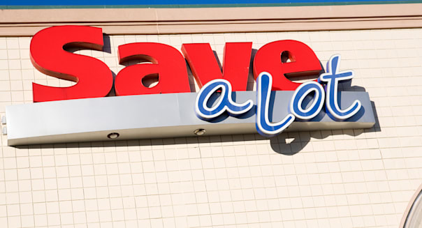 A Save-A-Lot grocery store.