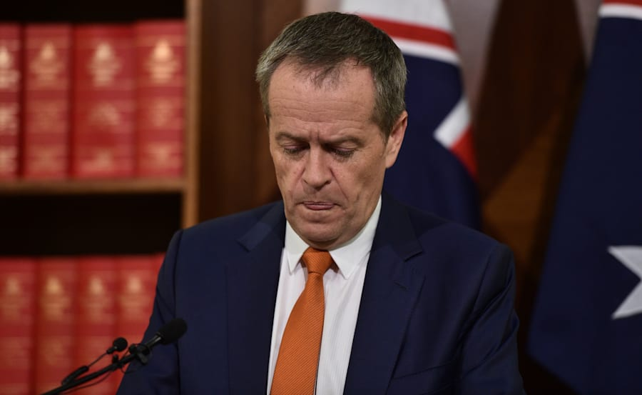 """Australian Labor Party leader Bill Shorten has promised to """"look constructively"""" at the government's..."""