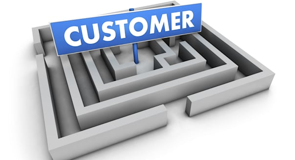 Business And Marketing Customer Labyrinth