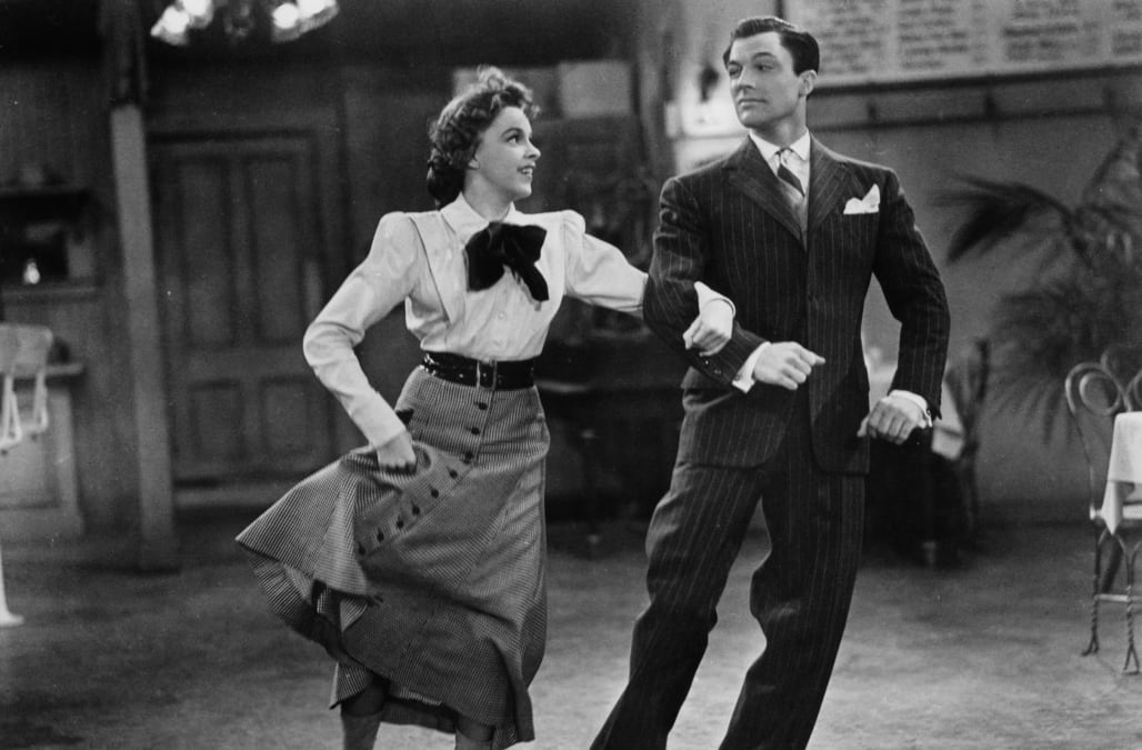 Judy Garland And Gene Kelly In 'For Me And My Gal'