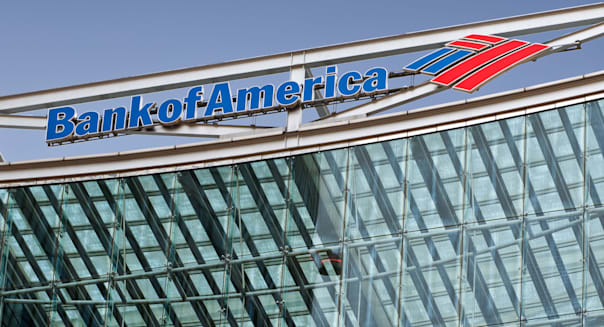 Bank of America headquarters in Canary wharf, london, UK
