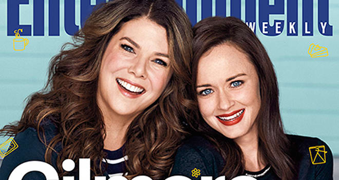 see first official photos from the 39 gilmore girls 39 revival moviefone. Black Bedroom Furniture Sets. Home Design Ideas