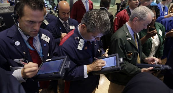 new york stock exchange traders earnings economy investing