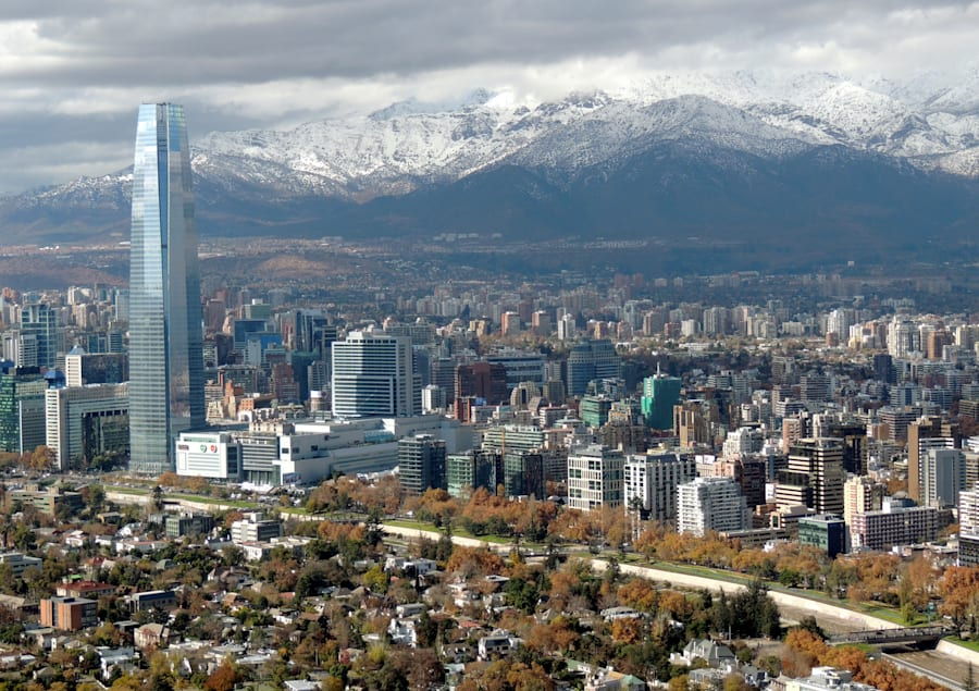 Didn't go there (except for the airport), but Santiago is said to be an amazing, modern