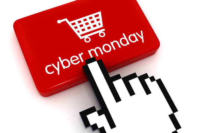 Cyber monday shopping sale