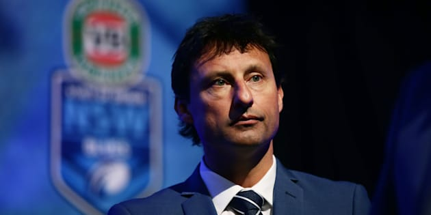 """Suggestions NSW coach Laurie Daley played """"pin the tail on the donkey"""" to choose his squad..."""