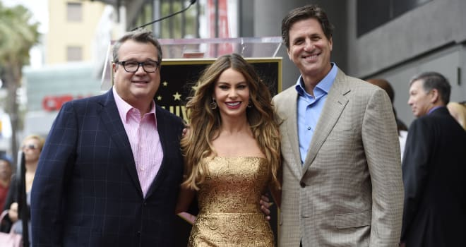 Sofia Vergara Honored With A Star On The Hollywood Walk Of Fame