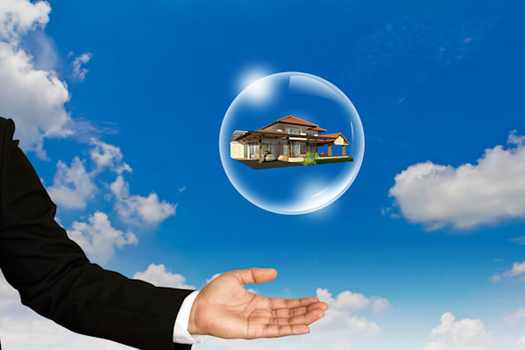 home in bubble over business...