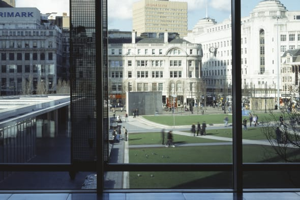 One Piccadilly Gardens, Manchester, United Kingdom, Architect Allies And Morrison, 2003