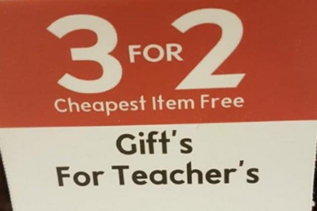 Waitrose grammar fail