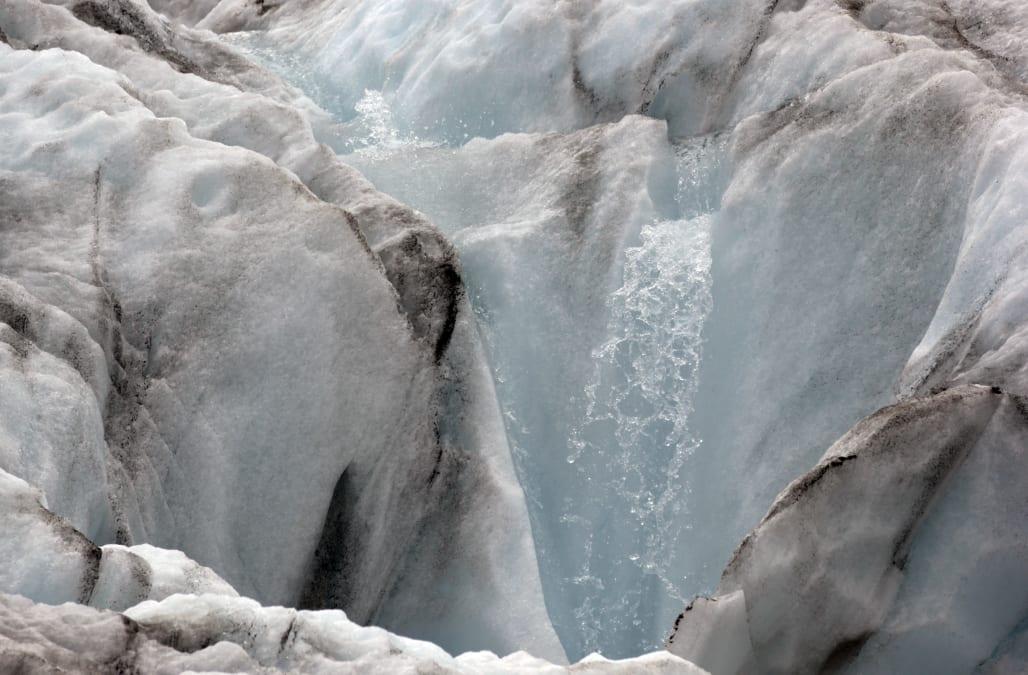 Shrinking Glaciers