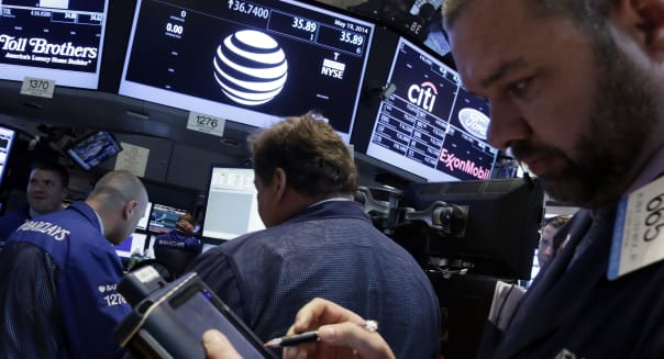 Wall Street AT&T DirecTV