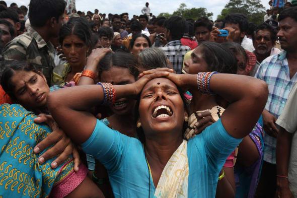 APTOPIX India Deadly Crash