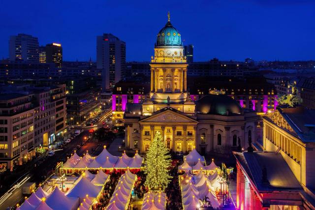 Berlin Weihnachtsmarkt Gendarmenmarkt - Berlin christmas market Gendarmenmarkt 20