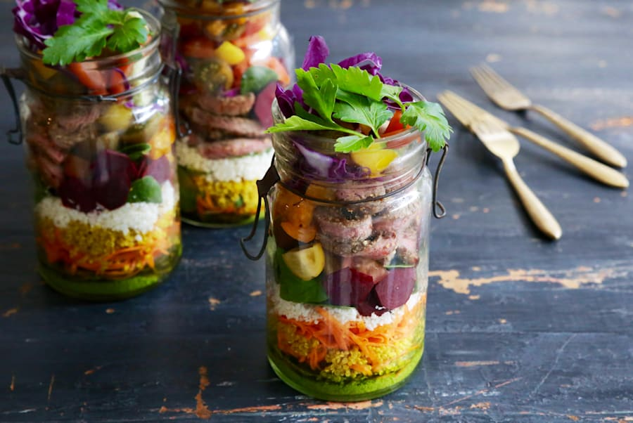 This easy lunch takes the boring out of