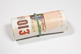 role of twenty english pound