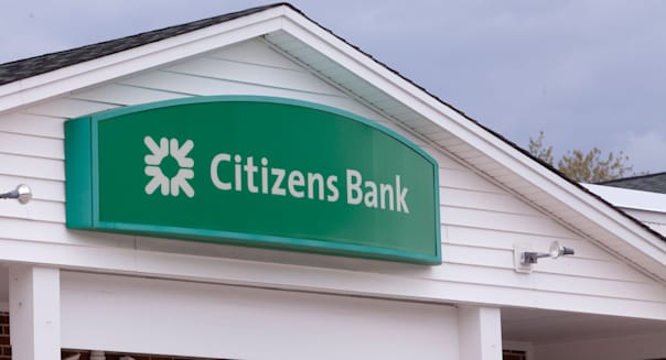 Citizens Bank branch is pictured in Conway, New Hampshire
