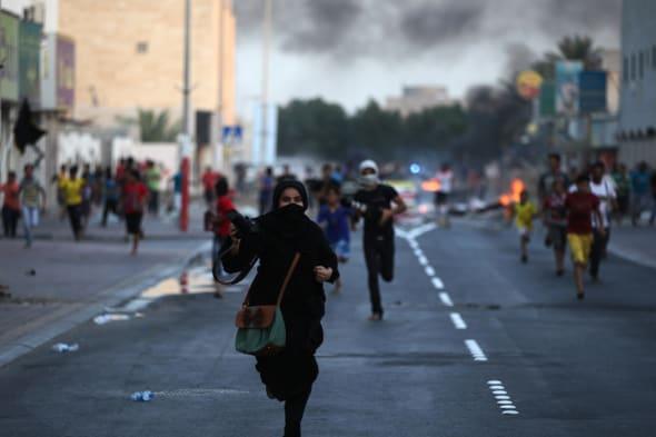 APTOPIX Mideast Bahrain