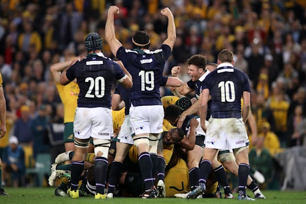 The Wallabies were crushed by Scotland on the weekend -- just the third time in 35