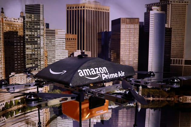 Amazon will soon be using drones to deliver packages in record time. Loftus Peak CEO Alex Pollak says...