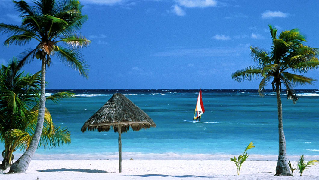 Playa Akumal, Resort Area Located Along Caribbean Sea
