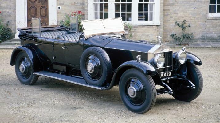 A 1925 Rolls-Royce Phantom I.