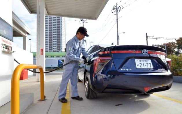 JAPAN-AUTO-TOYOTA-FCV