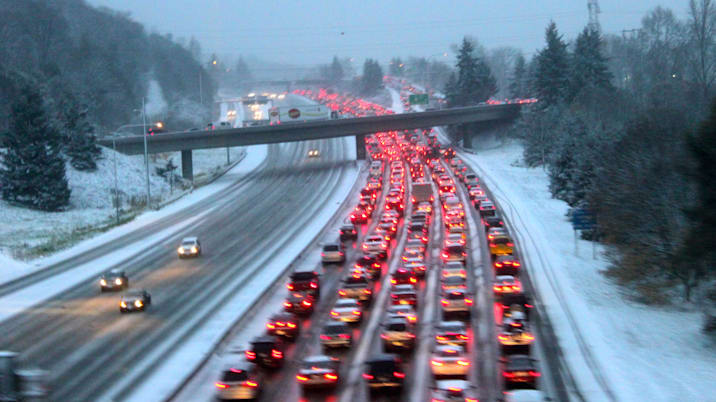 The I-5 Parking Lot at 4:30 pm
