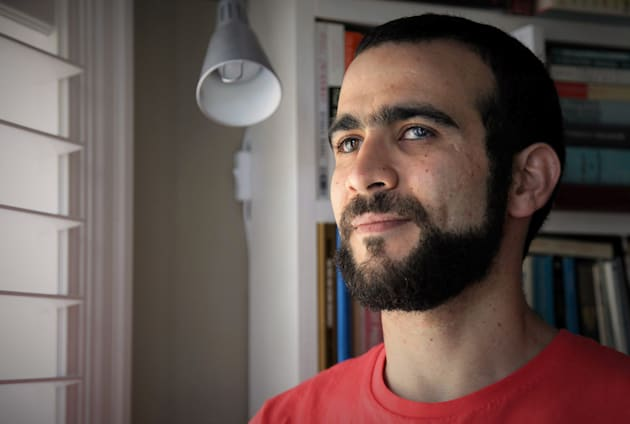 Former Guantanamo Bay prisoner Omar Khadr, 30, is seen at a home in Mississauga, Ont., on July 6,