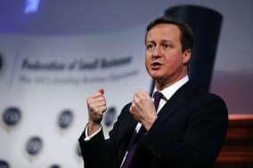 Cameron addresses FSB conference