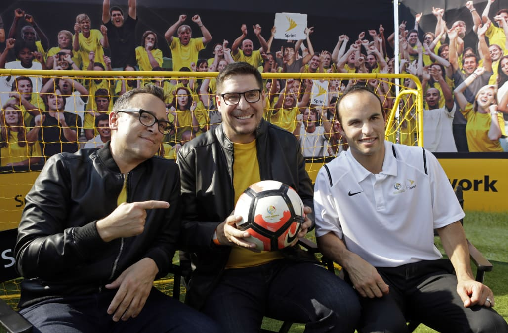 Landon Donovan and Sprint4Copa at the Copa America Finals