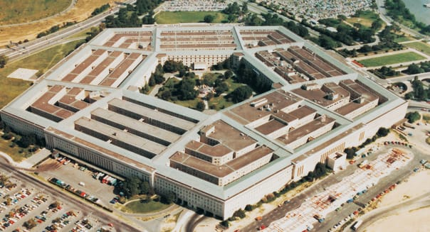 The Pentagon, Washington Dc, Usa