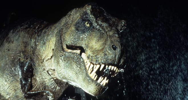 A 'Jurassic Park' Tyrannosaurus Rex