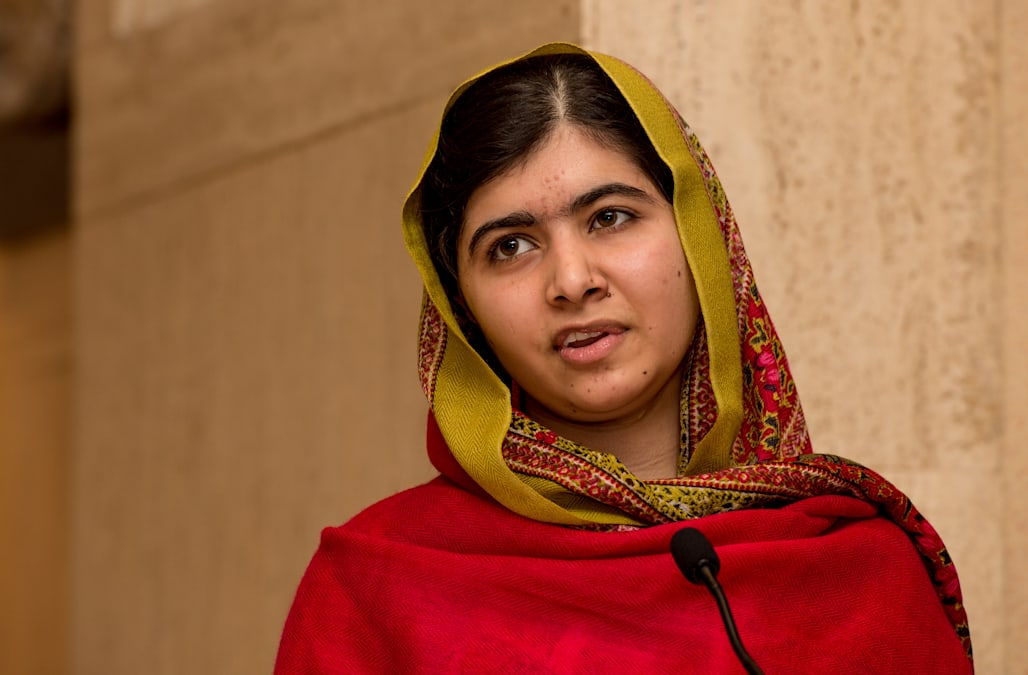 Malala Yousafzai Unveils Her Official Portrait By Nasser Azam